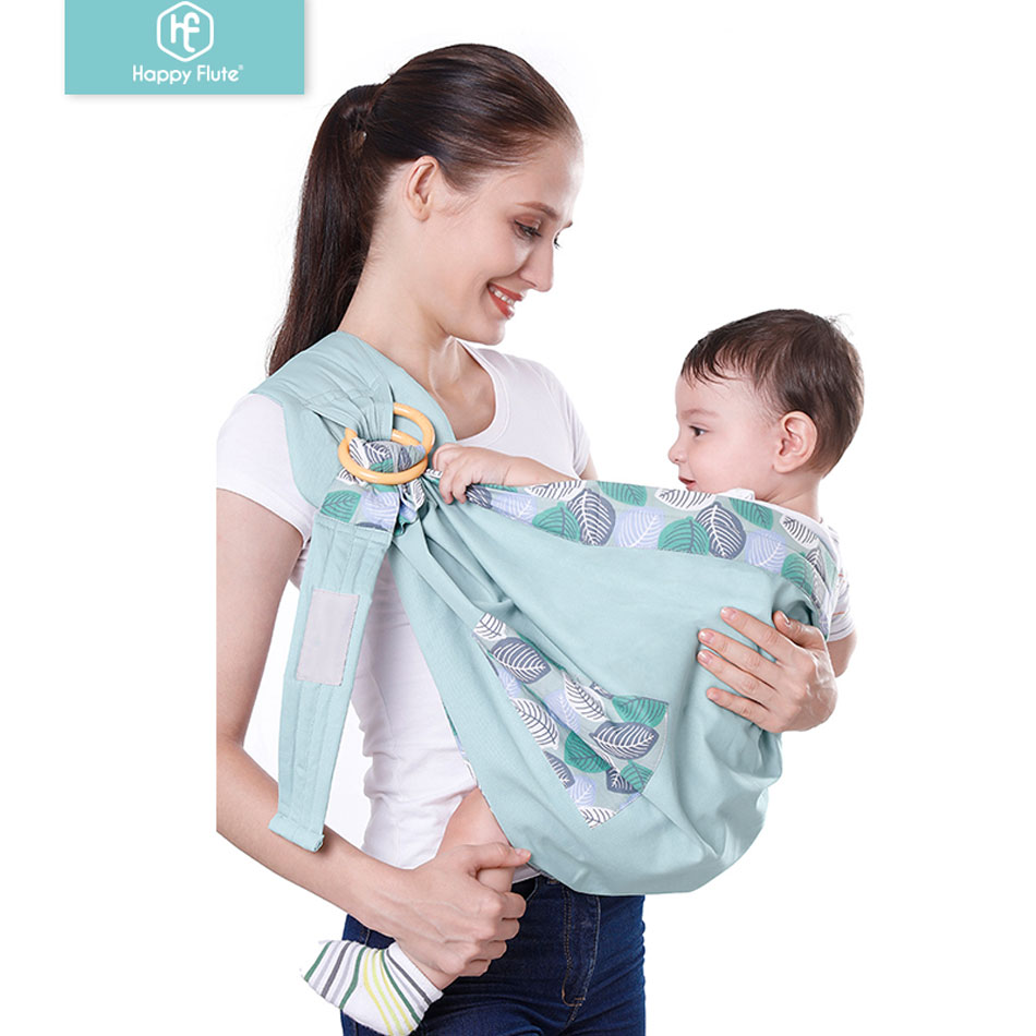 Happyflute  0-36 Months Baby Carrier Sling For Newborns Soft Infant Wrap Breathable Wrap Comfortable Nursing Cover