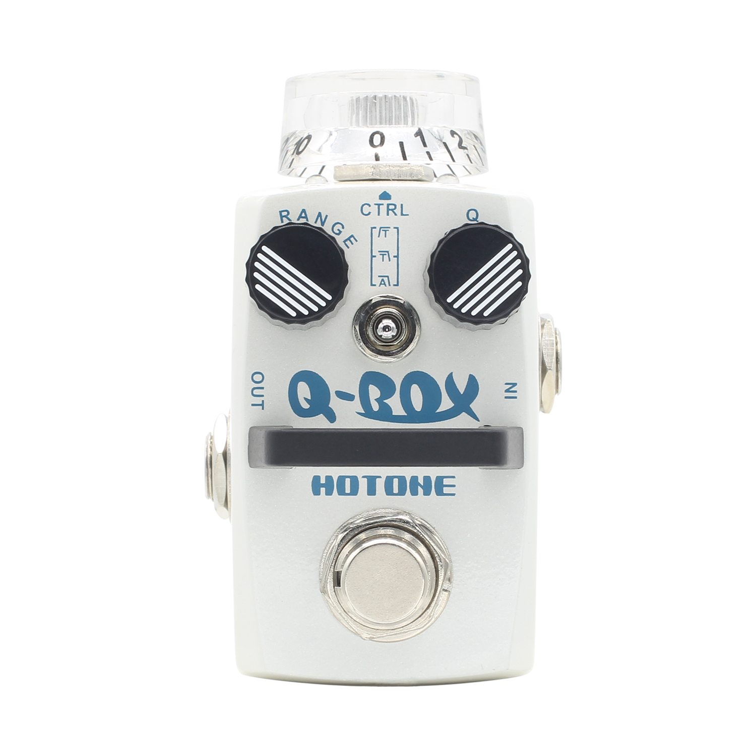 Hotone Q-Box Filter Electric Guitar Pedal wih Autowah and Dynamic Wah Effects Ture Bypass Digital Envelope Filter hotone soul press volume expression wah wah guitar pedal cry baby sound