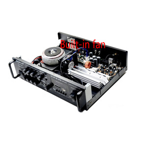 Image 4 - Kaolanhon 200W * 2 12v 220v TAV 6188BT גבוהה כוח Bluetooth מגבר SD USB FM ביתי HIFI רכב מגבר עם שלט רחוק