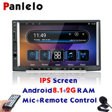 цена на Panlelo S15 2din android 8.1 Qcta core GPS Radio 2GRAM HD IPS Screen 7 inch Car Stereo Touch Screen Navigation For Kia Bluetooth