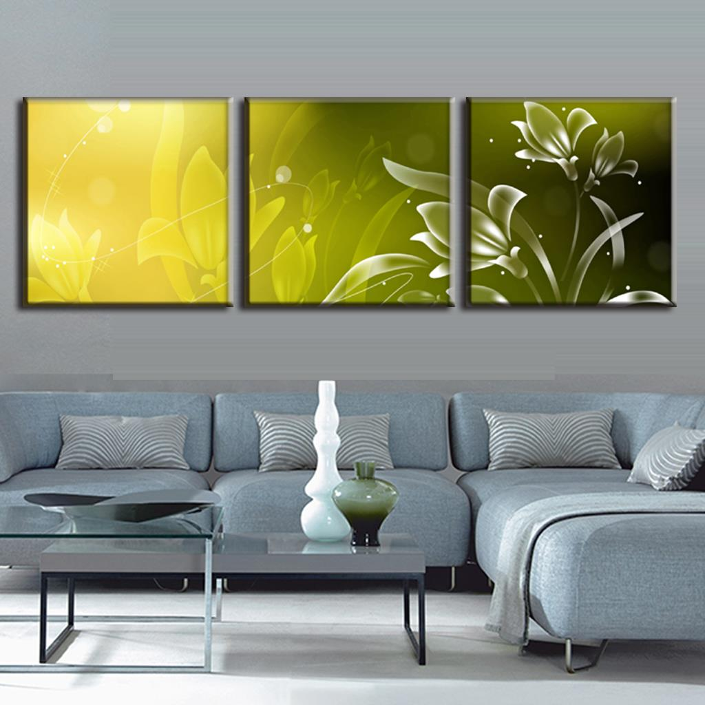Buy discount framed painting 3 pcs modern for Canvas prints to buy