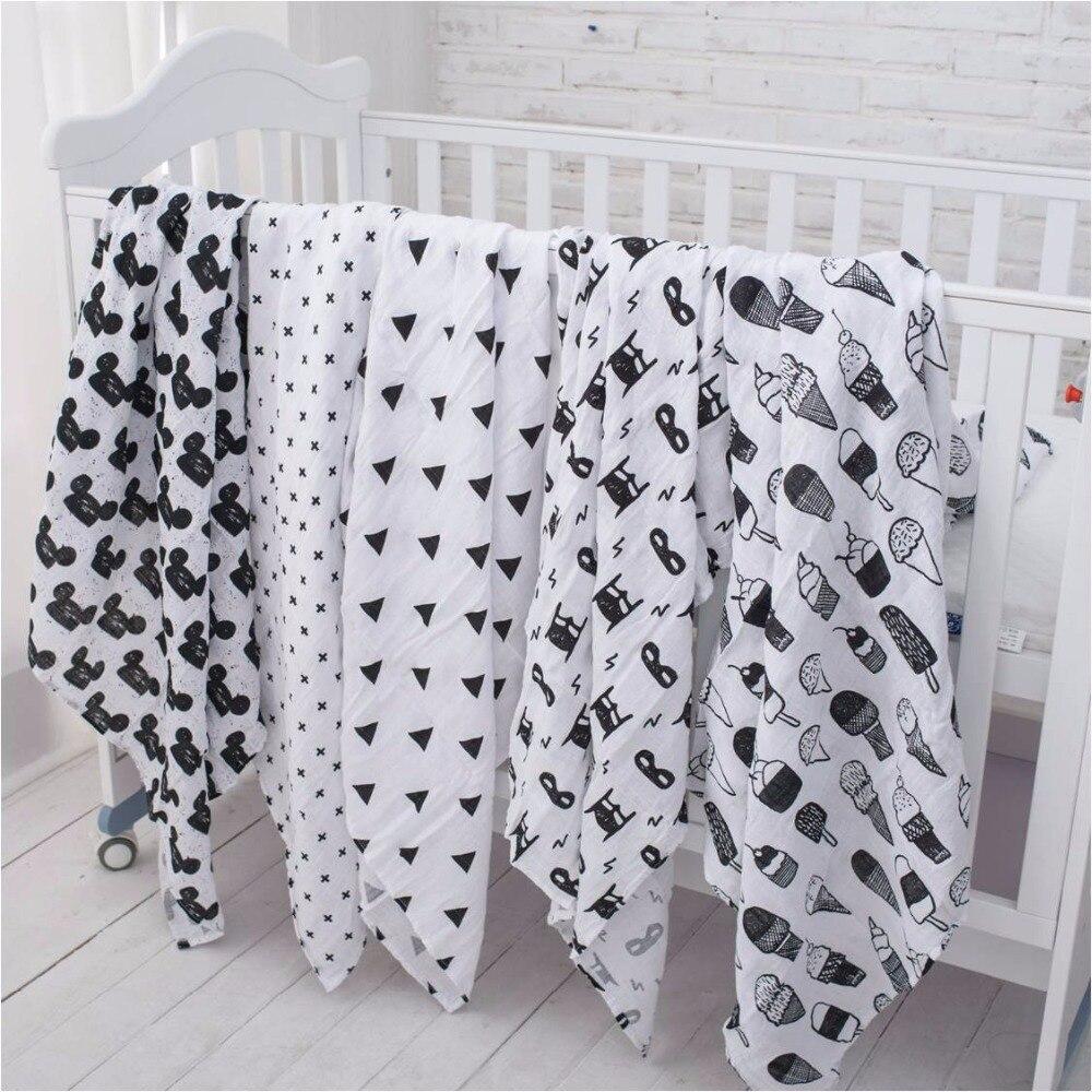 все цены на Muslinlife 100% Organic Cotton Muslin Swaddle Blanket,Heart/Cross/Fox/Milk Bottle blanket,Infant Newborn Baby Wrap 47*47