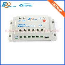 ШИМ контроллер 20A 20amp LS2024B epever 12 В 24 В Авто Работа EPSolar оригинальный продукт солнечное зарядное устройство контроллеров