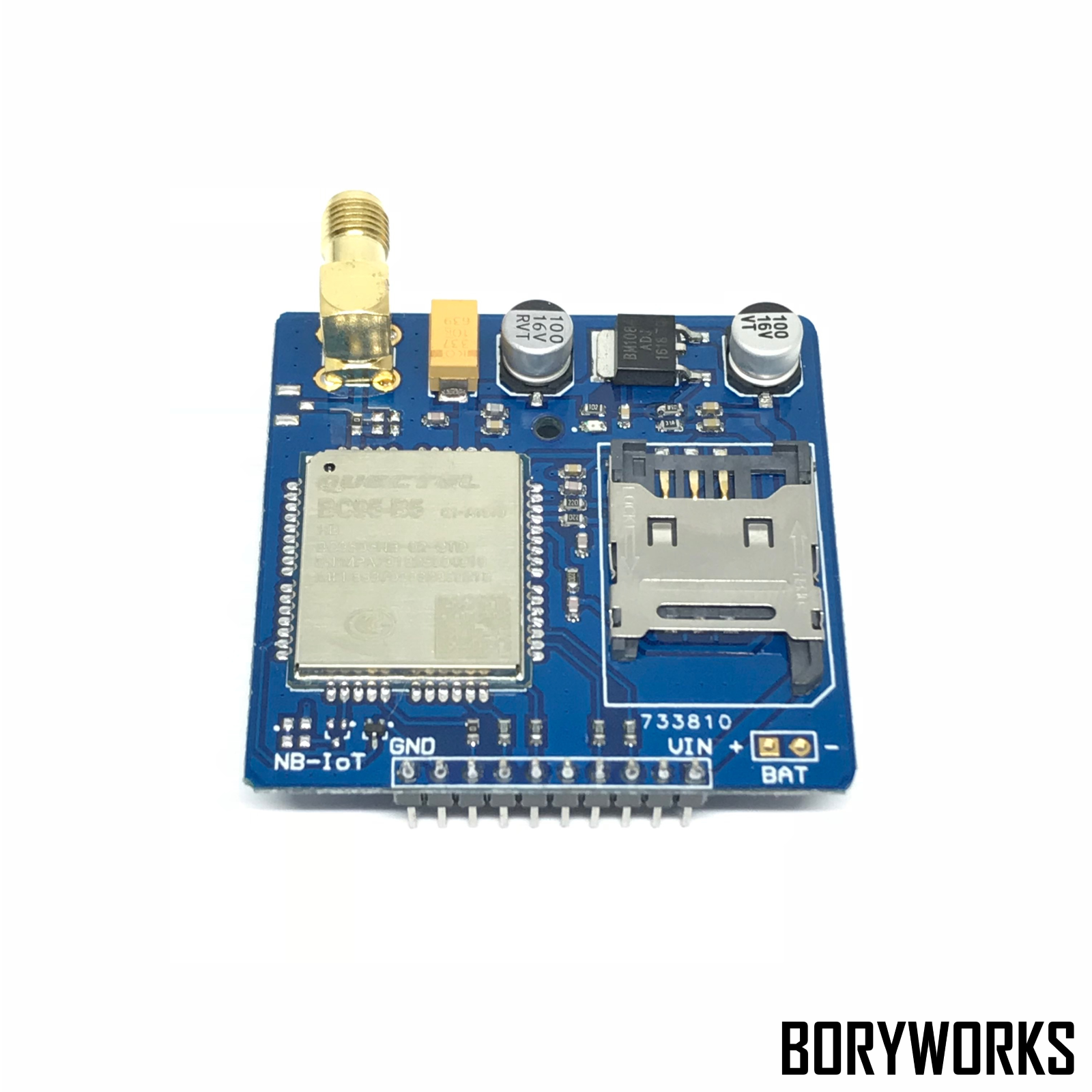 NBIoT module BC95 development board core board network data transmission module wireless data transmission fast free ship 2pcs lot 3g module sim5320e module development board gsm gprs gps message data 3g network speed sim board