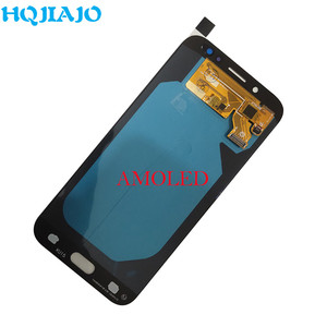 Image 4 - AMOLED LCD Display For Samsung Galaxy J7 Pro 2017 J730 J730F J730FM LCD Display Touch Screen Digitizer Assembly LCD J730