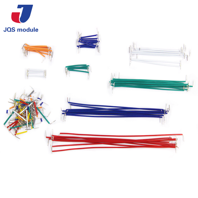 Hot Sell 140pcs Bread board dedicated Cable lines breadboard jumper wire lson female to female breadboard jumper dupont cable white black red blue yellow 28 pcs