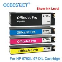 [Third Party ยี่ห้อ] สำหรับ HP 970XL 971XL 970 971 XL ตลับหมึกทดแทนสำหรับ HP Officejet Pro X451dn x451dw X476dw X476dn