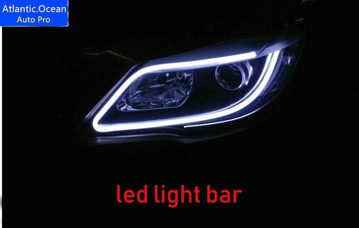 AUTO.PRO avensis led light bar decorative light strip car styling led headlight decoration strip