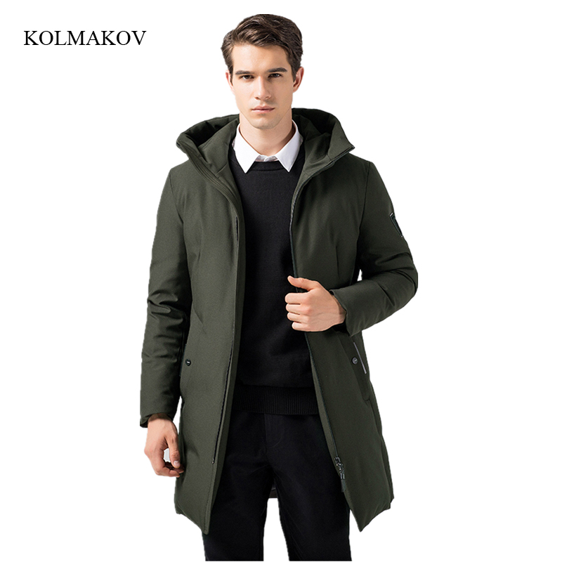 New arrival style men boutique   down     coats   fashion casual hooded slim overcoat men's thick solid zippers trench   coat   size M-3XL