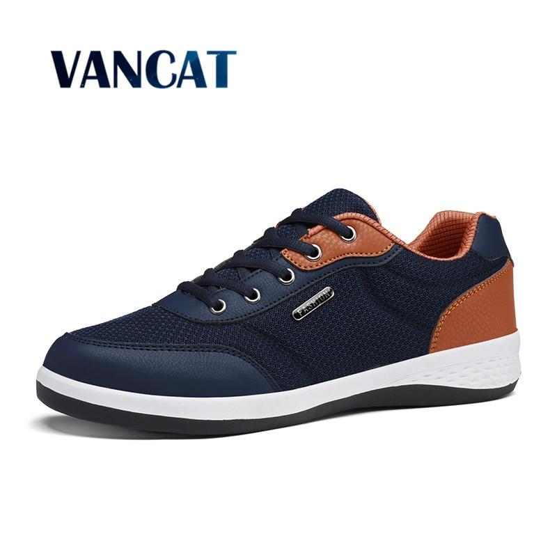 Verano de Los Hombres Zapatos de Moda casual zapatos de Malla Transpirable Suave