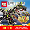 NEW LEPIN 24010 Science and technology building blocks 792pcs super 3 in 1 dinosaur remote control sound function for Boys Gift