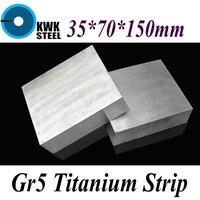 35 70 150mm Titanium Alloy Sheet UNS Gr5 CT4 BT6 TAP6400 Titanium Ti Plate Industry Or