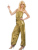 Titivate diva sexy discoteca retro star de las mujeres de halloween disfraces cosplay árabe de oro mujeres del mono glam vestidos cosplay