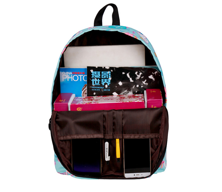 WINNER School Backpack Cartoon Rainbow Unicorn Design Water Repellent Backpack For Teenager Girls School Bags Mochila (3)