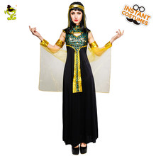 2018 New Women's Egyptian Queen costumes Adult's Sexy Egypt Cleopatra Outfit for Carnival Cosplay Party Fancy Dress Costumes(China)