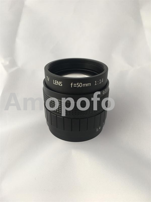 Black 50mm f1.4 CCTV TV Lens C mount for Samsung NX Camer NX1000 / NX210 / NX20 / NX200 / NX11 / NX100 / NX5 +C-NX+2 Macro Ring nx5 d700a photoelectric sensor nx5 d700a new in box