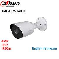 Dahua 4MP HDCVI IR Bullet Camera HAC HFW1400T IR20m Smart IR IP67 CCTV Mini Camera Max