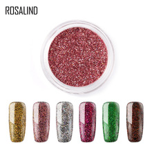 Rosalind 1g/box Nail Glitter Powder 16 Colors Nail Pigments With Glitters Candy Color Nail Dust Sequins Nail Art Glitters LROB 1bag lot 0 3mm shiny glitters colored nail art glitters decorations graceful eyeshadow powder glitters cosmetic makeup tools