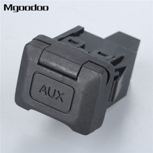 Mgoodoo 39112-SNA-A01 Car Auxiliary Input Jack Audio Video 39112SNAA01 For Honda Civic 2006 2007 2008 2009 2010 2011 2pcs lot new ignition coil 30520 rna a01 for honda civic 2006 2011 1 8l uf582 c1580 uf 582 30520rnaa01