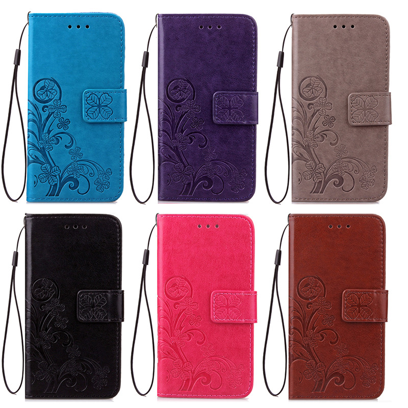 Dla iphone 7 plus 4S 5S 4 5 6 s skórzane etui z klapką case do samsung galaxy a3 a5 j3 j5 2016 j1 s6 s7 s3 s4 s5 mini grand prime pokrywa 4
