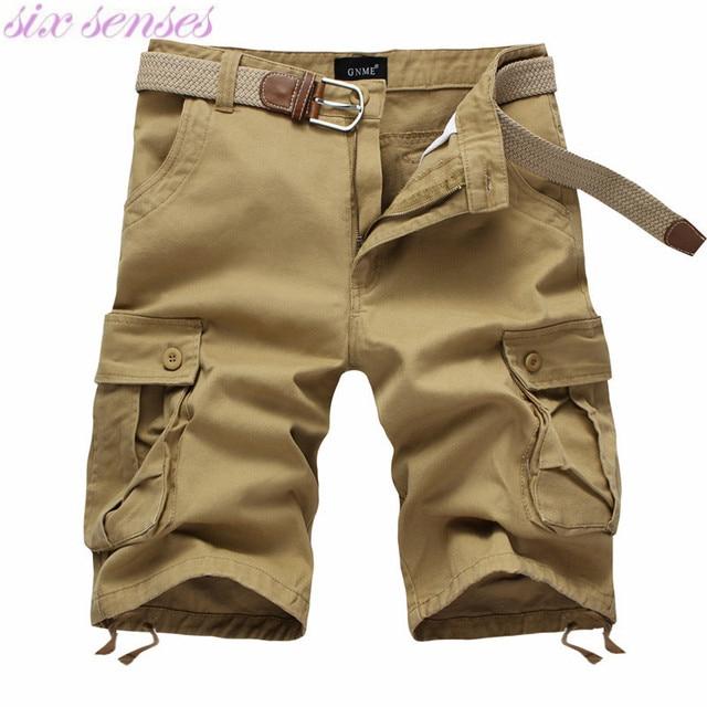 Plus Size 42 Mens Cargo Pants Multi Pocket Short Overalls Men's ...