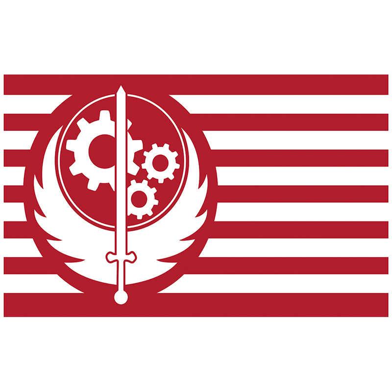จัดส่งฟรี xvggdg ธง Nova แคลิฟอร์เนีย Fallout Brotherhood ธง 90*150 ซม. ขนาดโพลีเอสเตอร์ arty แบนเนอร์