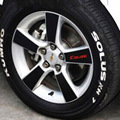 Car Wheels Stickers With Scarlet Letter Sticker Carbon Fiber Modified For Cruze  Automobiles Exterior Accessories