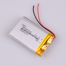 3.7V 2000mAh 103450 Lipo battery Rechargeable Lithium Polymer ion Battery Pack For GPS Tracking Wireless Devices Game Player