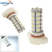 2pcs H16 68 SMD White 5202 5201 PSX24W Head Fog Lamps LED Bulb Lamp car led bulbs Car Light Source parking 12V 6000K цена