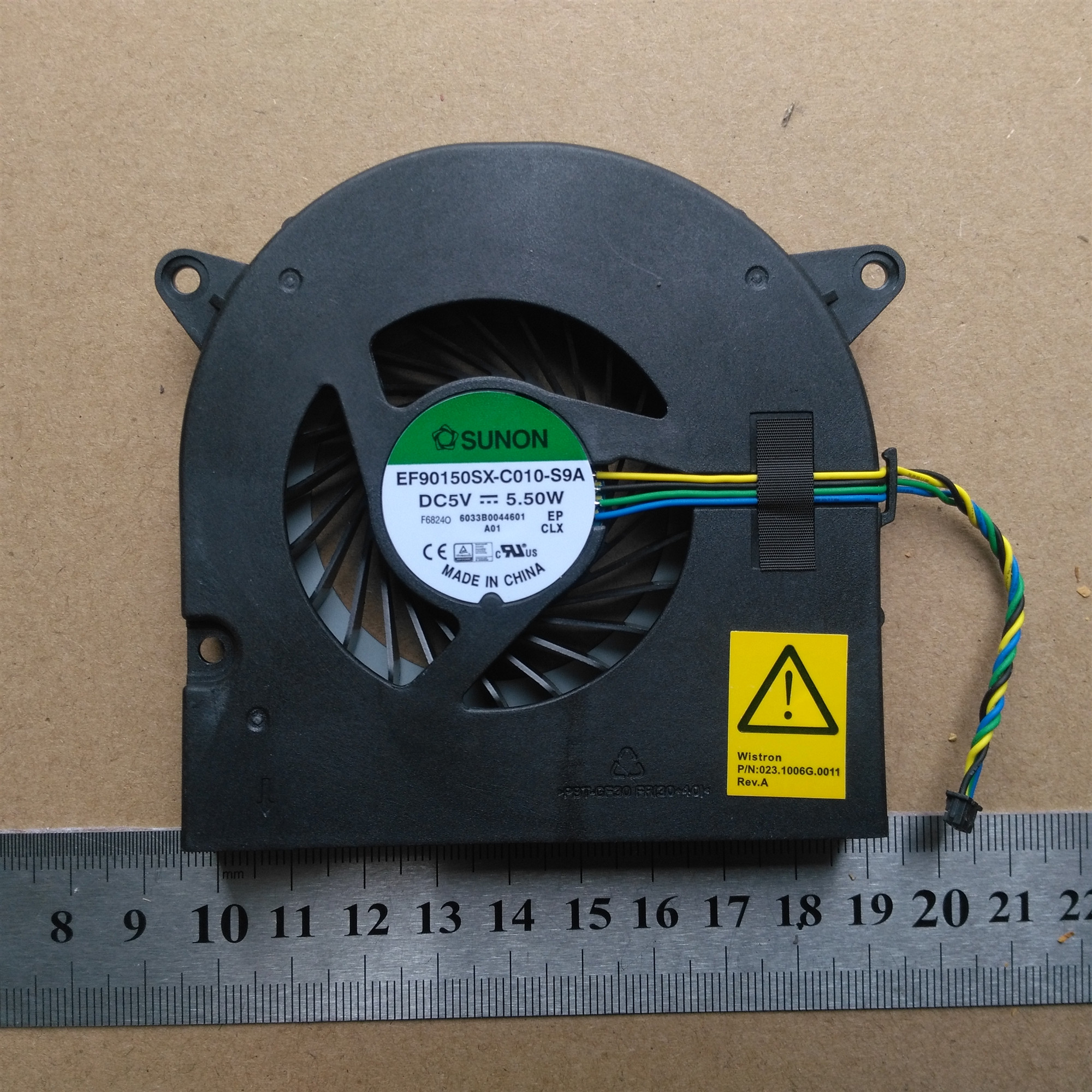 Original new laptop cpu Internal Cooling Fan for Lenovo System (AVC) f ideacentre AiO 300-22ISU P/N 00PC723