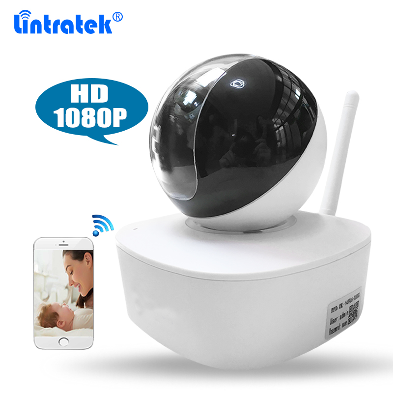Wireless HD 1080P Wifi IP Camera for Home Baby Monitor Surveillance Camera with Night Vision Pan/Tilt Two-Way Audio SD Card Slot hd 1080p pan