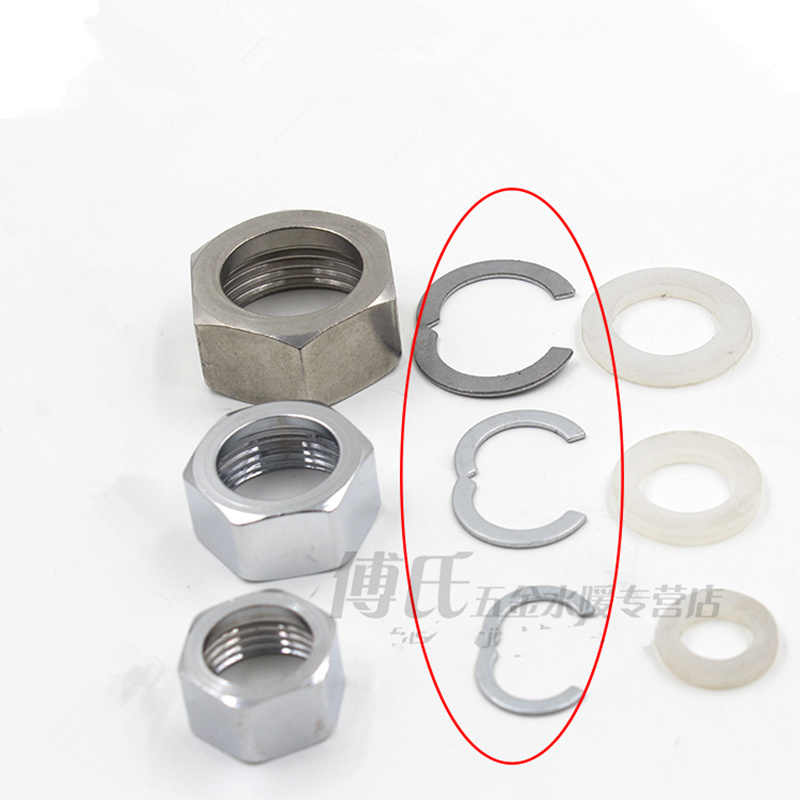 1set stainless steel corrugated gas fittings Female Thread