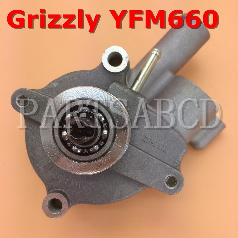 partsabcd yfm 660 water pump for yamaha grizzly rhino yfm660 oem 5km 12420 10 00 2002 2008 [ 1000 x 1000 Pixel ]