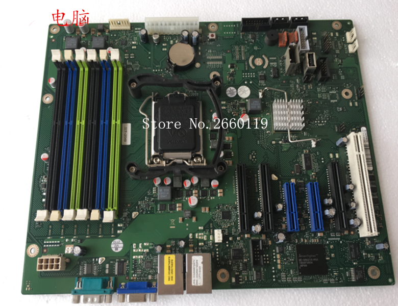 Server Mainboard For TX150 S7 V2 1156 D2759-A13 GS1 Motherboard Fully Tested