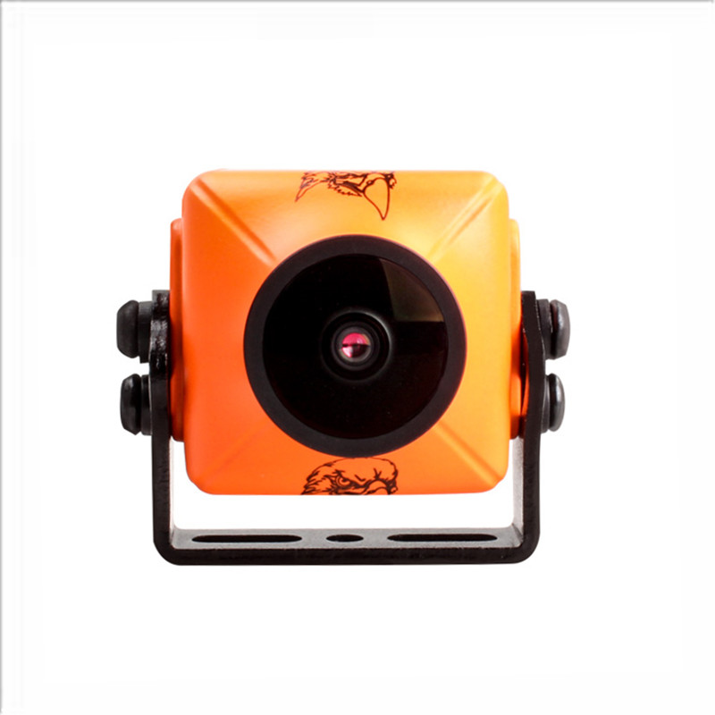 D'origine RunCam Eagle 2 PRO 800TVL CMOS 2.1mm/2.5mm 16:9/ 4:3NTSC/PAL Commutable Super WDR Caméra FPV À Faible Latence