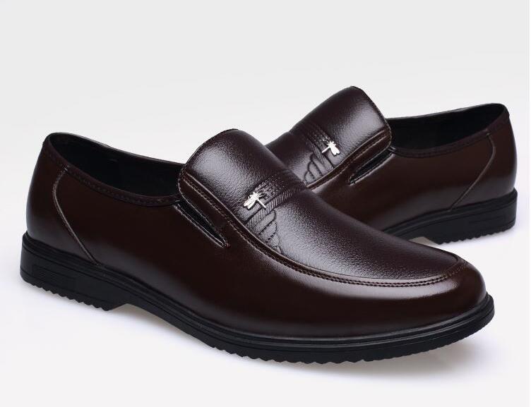Robe d'affaires Mode Hommes Chaussures 2017 New Classic Hommes & # 39; S Slip affaires Costumes Chaussures de mode sur wdLCCBmymT