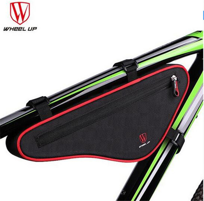 WHEEL UP Waterproof Outdoor Triangle Bicycle Front Tube Frame Bag Nylon MTB Cycling Accessories