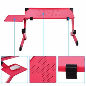 Image 4 - Adjustable Portable Laptop Table Stand Lap Sofa Bed Tray Computer Desk Laptop Notebook Desk Bed Table Office Home Desks