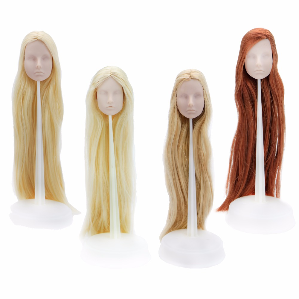 High Quality Doll Head Without Makeup 14 Moveable Joints Doll Body DIY Naked Accessories For 12'' 1/6 Doll Baby Kids Toys Gifts