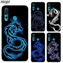 Beautiful Dragon Sketch Soft Hull Shell Case For Huawei Nova 2 Plus 2S 3 3i 4 TPU Printed Pattern Riverdale Cover
