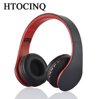 HTOCINQ Over Ear Headphones For Kids Boys Adult With Microphone In Line Volume Foldable Headset With