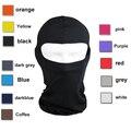 Lycra Balaclava máscara de Ultra Thin Motorcycle Bike máscara de invierno ciclismo esquí cuello polaina exterior a prueba de polvo máscara a prueba de viento
