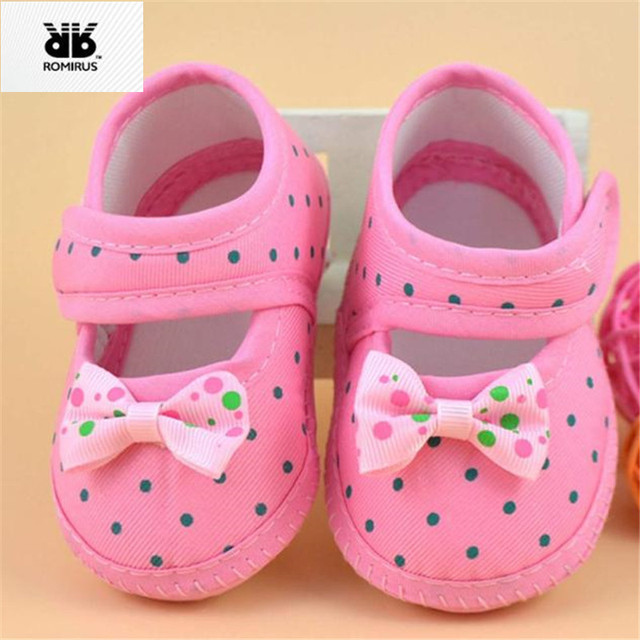 ROMIRUS Baby Shoes for Kids Sneakers Sapato Bebe Menino Newborn Girls Crib Shoes  Booties for Babies Soft Soled sapatinho bebe 853e211d6948