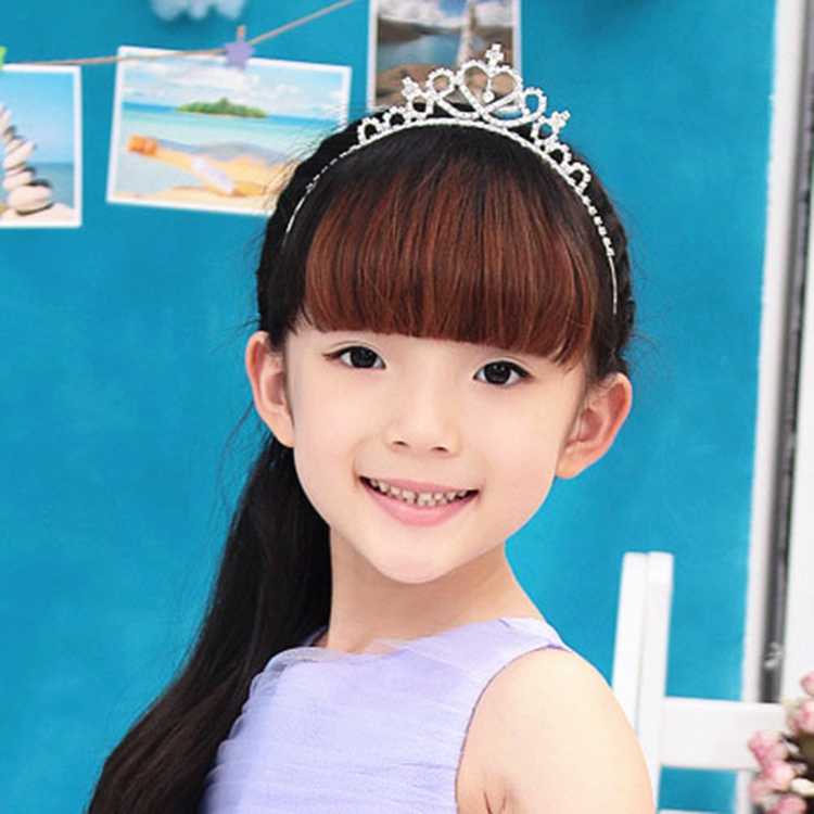 HTB1G9P3QVXXXXa4XpXXq6xXFXXXV Cute Heart Princess Rhinestone Headband Crown Tiara For Girls