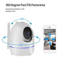 LOOSAFE Home Security IP Camera Automatic tracking PTZ Cloud Wifi IP Camer IRCut Night IR Audio Record P2P HD CCTV Surveillance