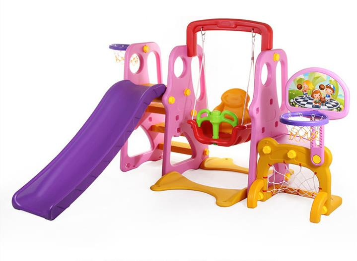 Children S Indoor Slide Baby Swing Multi Function Triple Combination