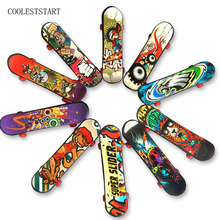 20pcs random Fingerboard Tech Decks 96mm mini Skateboard Original boys toy Plan B Element Blind DGK