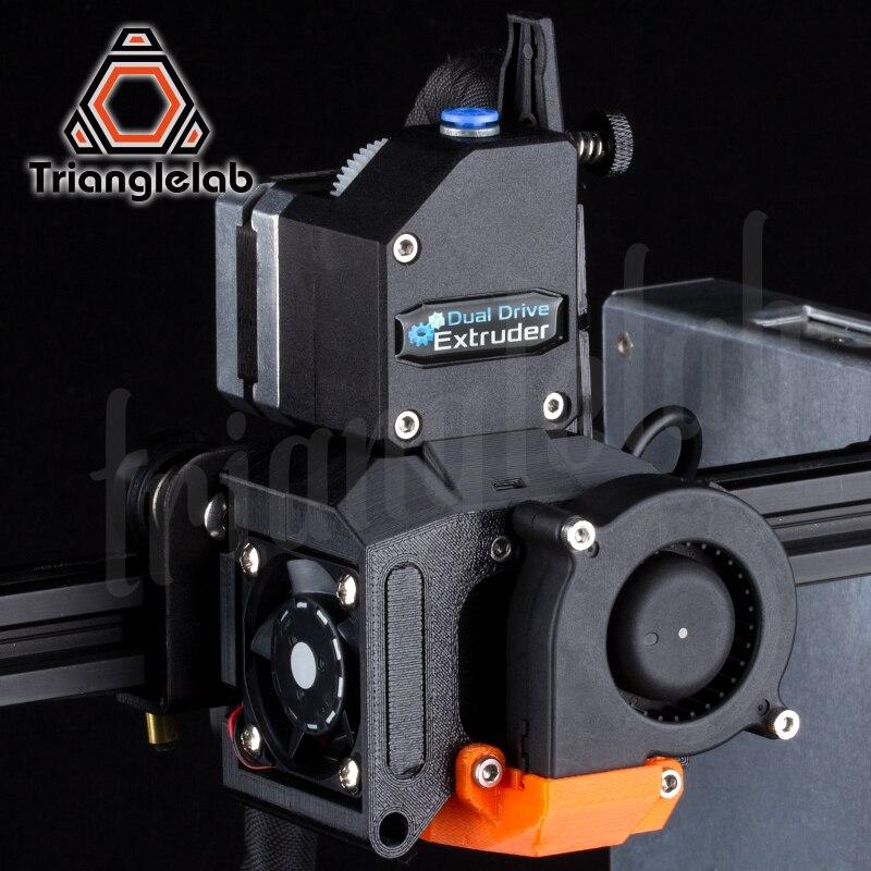 Kit de mise à niveau d'extrudeuse à entraînement Direct trianglelab DDE pour imprimante 3D Creality3D série Ender-3/CR-10 grande amélioration des performances - 2
