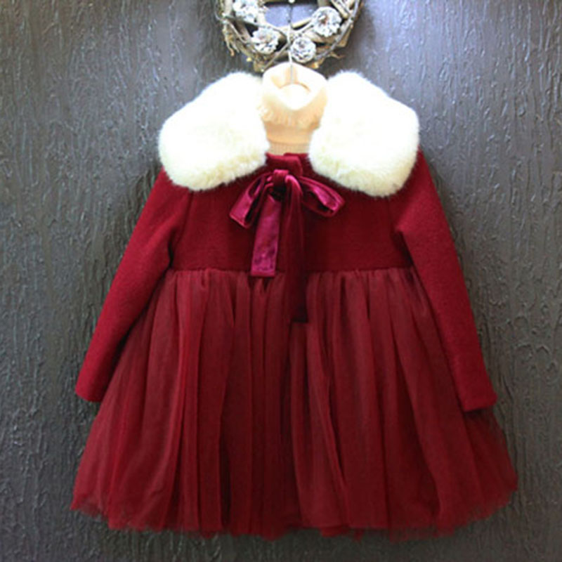 Old fashioned red christmas dresses