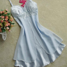 2017 Women Sexy Silk Satin Night Gown Sleeveless NighJUMAYO SHOP COLLECTIONS – NIGHT DRESS